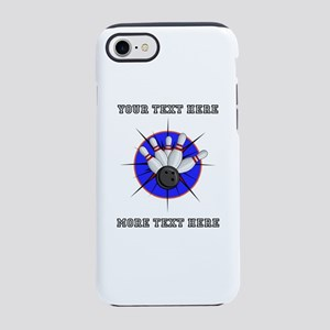 Personalized Bowling iPhone 8/7 Tough Case