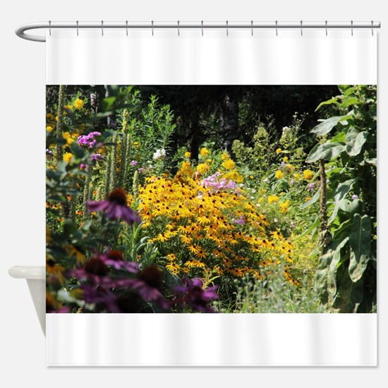 Big and Tall Secret Garden Shower Curtain