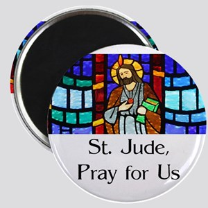 St. Jude Stained Glass Magnets