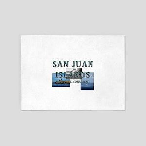 ABH San Juan Islands 5'x7'Area Rug