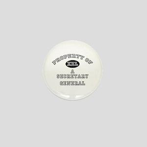 Property of a Secretary General Mini Button