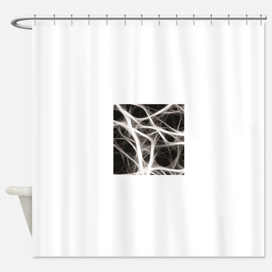 tangle treads Shower Curtain