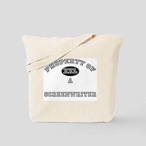 Property of a Screenwriter Tote Bag