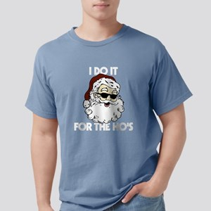 Santa - I Do It For The Mens Comfort Colors Shirt