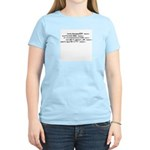 Spiderfighter says: Women's Light T-Shirt