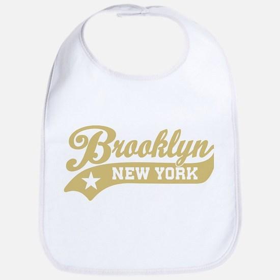 Brooklyn New York Baby Bib