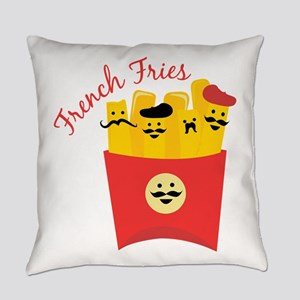 French Fries Everyday Pillow