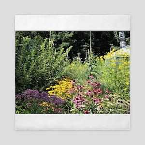 Secret Garden Tent Queen Duvet