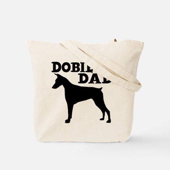 DOBIE DAD (both sides) Tote Bag