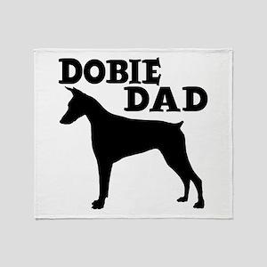 DOBIE DAD Throw Blanket