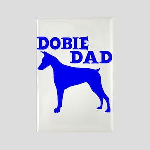 DOBIE DAD Rectangle Magnet