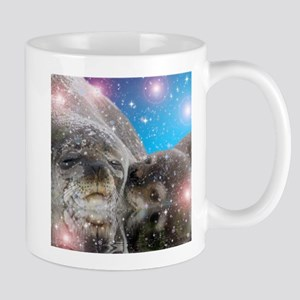 Mother and baby seal Mugs