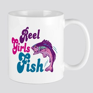 Reel Girls Fish Mug