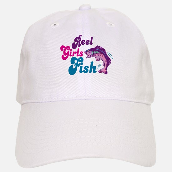 Reel Girls Fish Baseball Baseball Cap