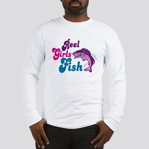 Reel Girls Fish Long Sleeve T-Shirt
