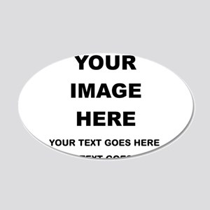 Your Photo and Text Here T Shirt Wall Decal