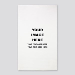 Your Photo and Text Here T Shirt Area Rug