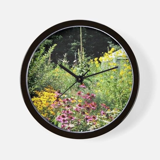 Secret Garden Tent Wall Clock