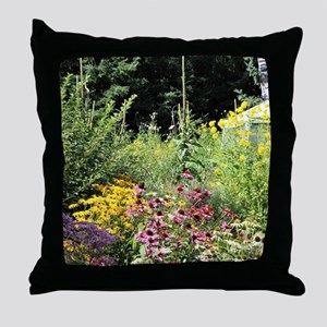 Secret Garden Tent Throw Pillow
