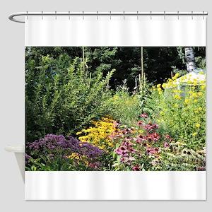 Secret Garden Tent Shower Curtain
