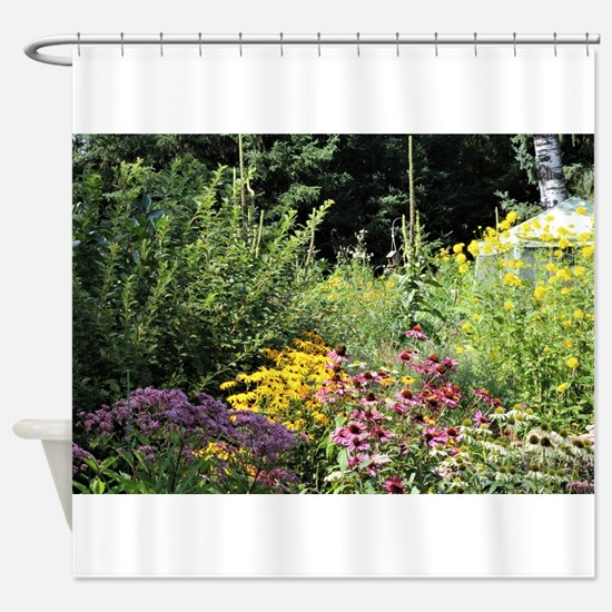 Secret Garden Tent Shower Curtain