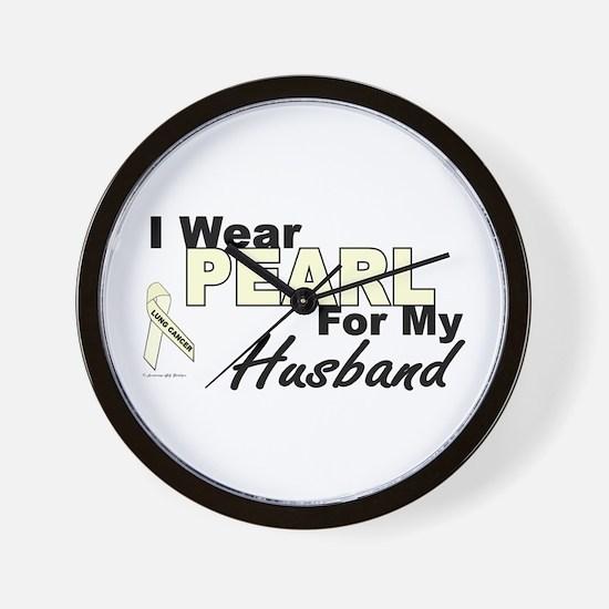 I Wear Pearl 3 (Husband LC) Wall Clock
