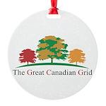 GCGLOGO2 Round Ornament
