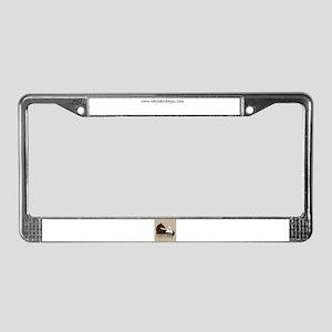 White Bird Appaloosa Horse Re License Plate Frame