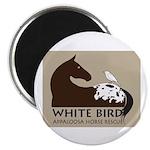 "White Bird Appaloosa Horse Re 2.25"" Magnet (1"