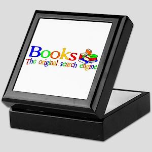 Books The Original Search Engine Keepsake Box