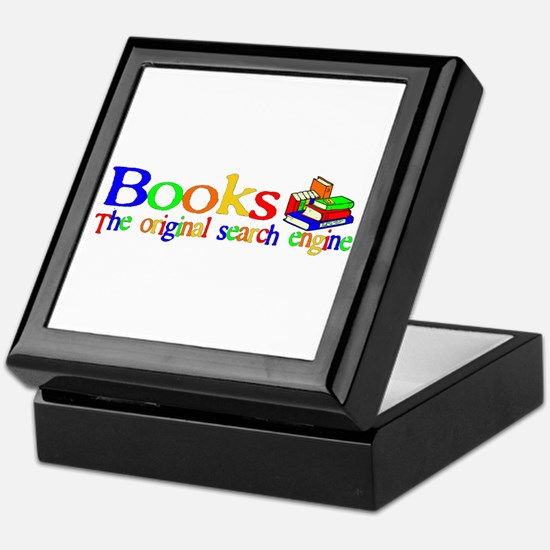 Books The Original Search Engine Keepsake Box