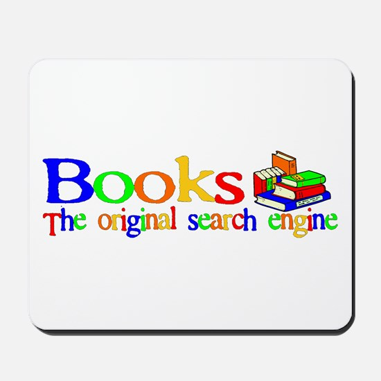 Books The Original Search Engine Mousepad