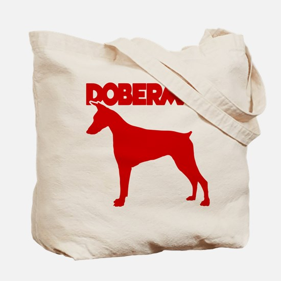 DOBERMAN (both sides) Tote Bag