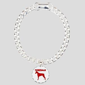 DOBERMAN Charm Bracelet, One Charm