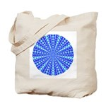 Blue Pattern 001 Tote Bag
