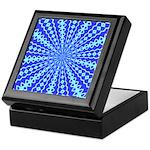 Blue Pattern 001 Keepsake Box