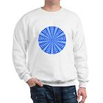 Blue Pattern 001 Sweatshirt