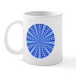 Blue Pattern 001 Mug