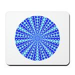 Blue Pattern 001 Mousepad