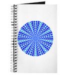 Blue Pattern 001 Journal