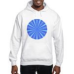Blue Pattern 001 Hooded Sweatshirt