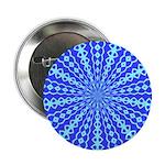 Blue Pattern 001 Button