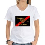 TANSTAAFL Women's V-Neck T-Shirt