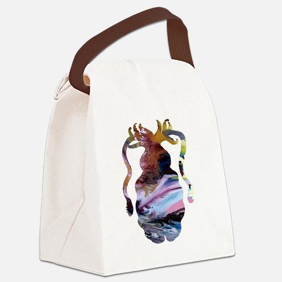 Unique Water boy Canvas Lunch Bag