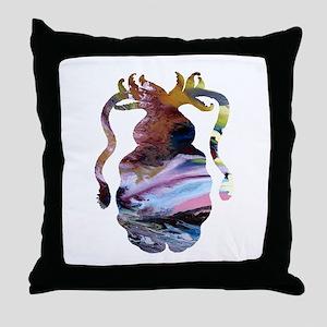 Cuttlefish Throw Pillow