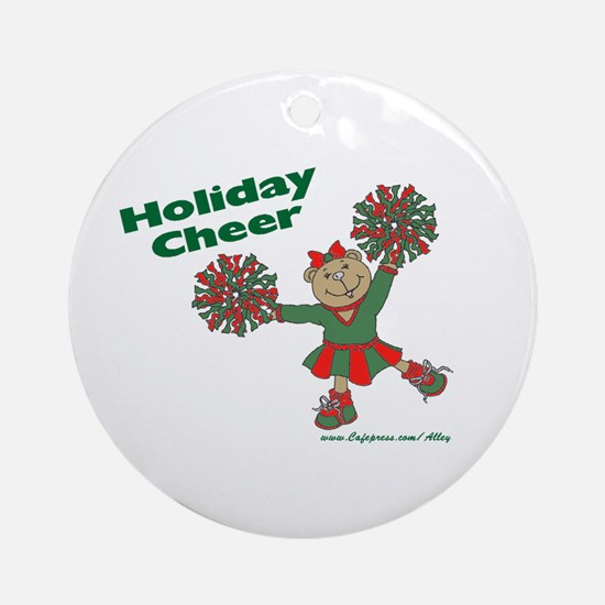 Holiday Cheer Ornament (Round)
