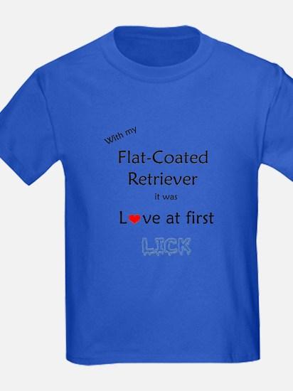 Flat-Coat Lick T