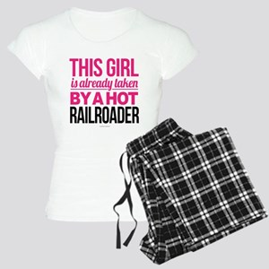 Hot Railroader Women's Light Pajamas