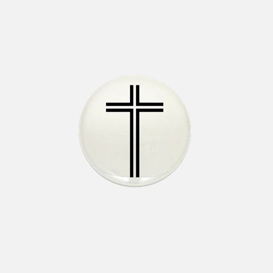 Cross Mini Button