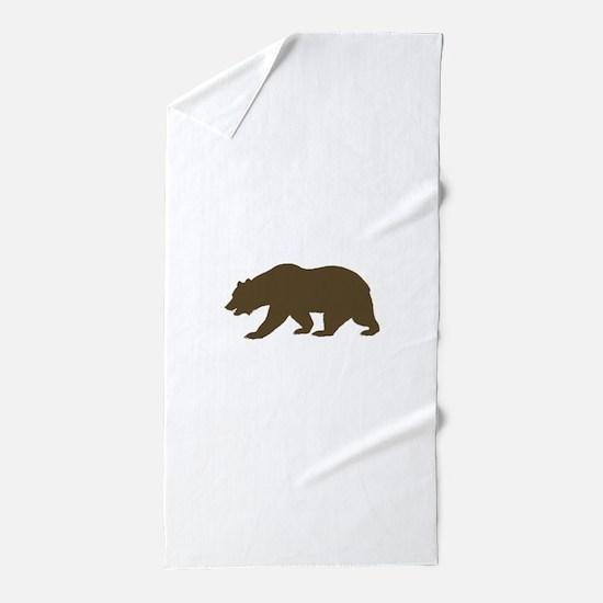 California Bear Beach Towel